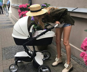 baby, fashion, and look image