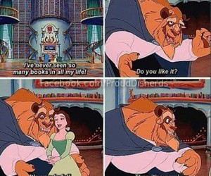 book, beauty and the beast, and disney image