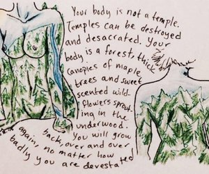 quotes, body, and art image