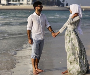 couple, islamic, and muslim image