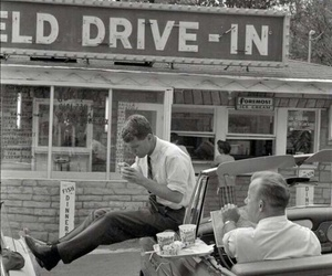 vintage, 1950s, and black and white image