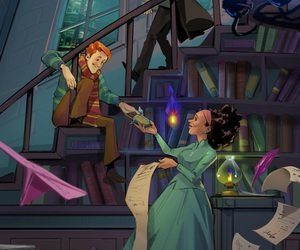 future, harry potter, and hermione image