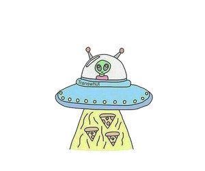 aliens, background, and color image
