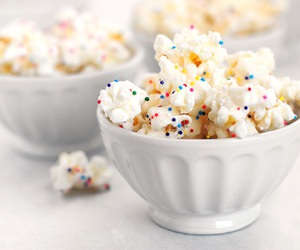 popcorn and white image