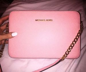 bag, pink, and Michael Kors image