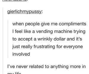compliments, funny, and tumblr image
