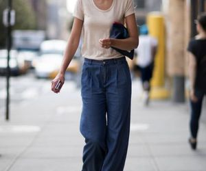 nyfw, style, and street look image