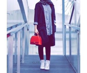 hijab, محجبات, and بُنَاتّ image