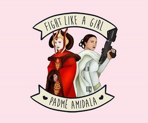 girl and star wars image