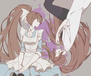 anime, danganronpa, and chisa yukizome image