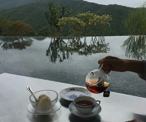 nature, tea, and green image