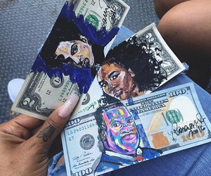 money and art image