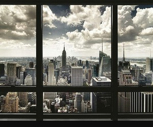 new york and window image