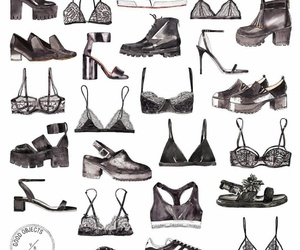 woman, bra, and shoes image