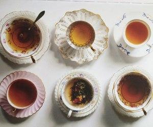 food, morning, and tea image
