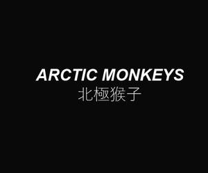 arctic monkeys, black, and header image