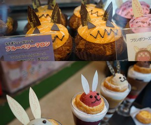 nicolas house harajuku, cute bunny cafe, and japan bunny cafe image