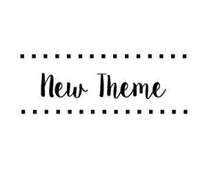 new theme and theme divider image