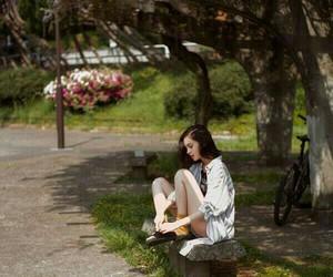 forest, model, and kiko mizuhara image