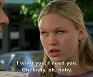 10 things i hate about you, sarcastic, and love image