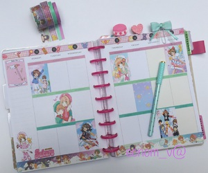 agenda, anime, and planner image