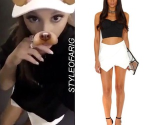 easel, ariana grande, and steal her style image