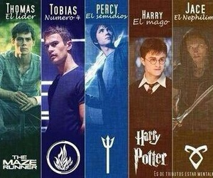 harry potter, book, and divergent image
