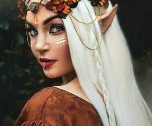 Halloween, makeup, and elf image