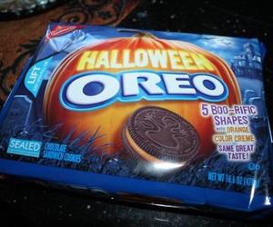 Halloween and oreo image