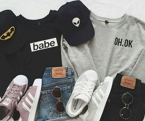 adidas, basket, and black image
