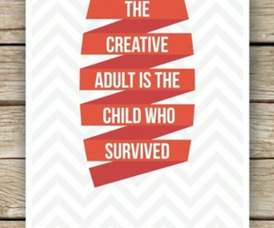 child, creative, and quote image