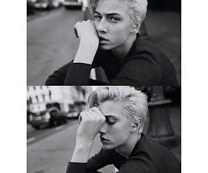 handsome, model, and lucky blue smith image