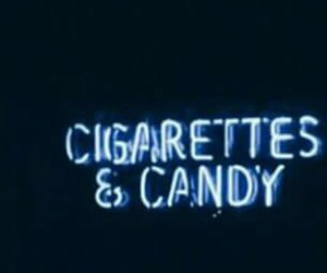 blue, candy, and cigarettes image