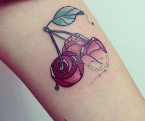 cherry rose tattoo image