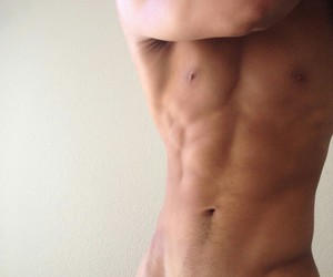 abs, guys, and muscles image