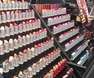 Lipsticks, mac, and makeup image