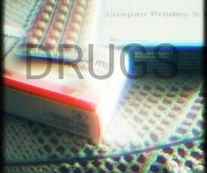drugs, psichodelic, and ansiety. image