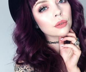 beauty, dye, and girl image