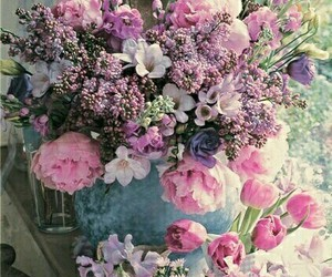 flowers and 💐 image