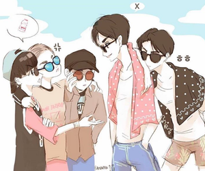Chen, exo, and chibi image