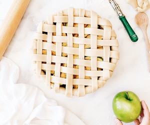 apple, sweet, and pie image