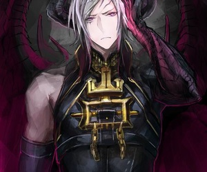 anime, demon, and horns image