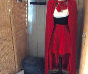costume, Halloween, and little red riding hood image
