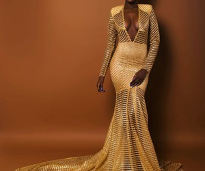 glitter, gold, and stunning image