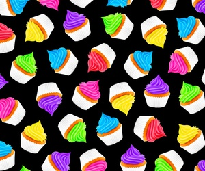 background, cake, and pattern image
