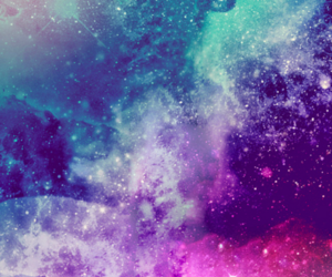 galaxy, stars, and background image