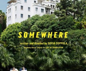 somewhere, Elle Fanning, and poster image