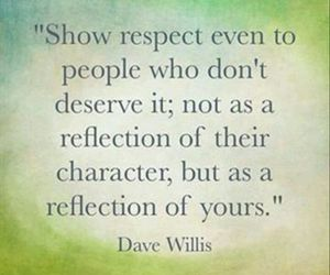 quote, respect, and people image