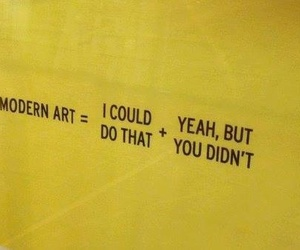 quotes, yellow, and modern art image