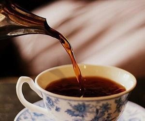 tea, vintage, and coffee image